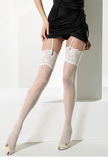 Lace Top Bridal Stockings